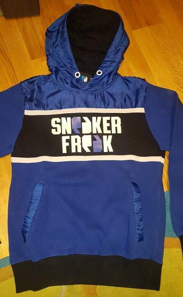 Sneaker Freak dux sa kapuljacom. muski xs. za decake 12-15 godina - Belgrade