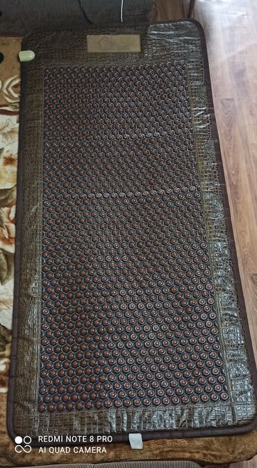 Турмалиновые коврики - Кыргызстан: Лечебный турманиевый матрас В идеальном состоянии С чехлом и шнуром в