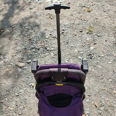 Прогулочная коляска чемоданчик baobaohao в среднем состоянии. Тормоз