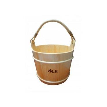 Бадья 12л, сосна, LKБадья отлично дополнит интерьер вашей бани и