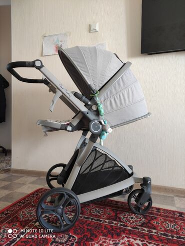 удобные коляски для новорожденных в Кыргызстан: Детская коляска Pierre Cardin, удобная, маневренная, красивая в