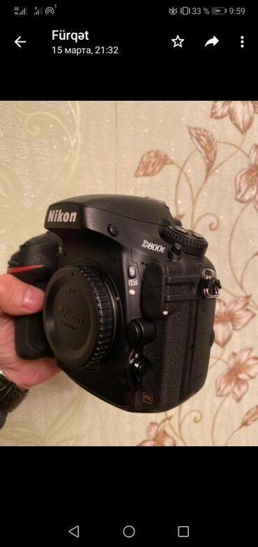 Nikon D800E probeg 7k ideal vəziyyətdə 1600 azn. Nömrəye zəng catmasa