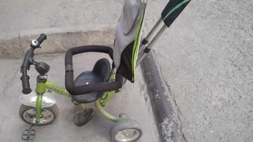 велосипед с детской коляской в Кыргызстан: Велосипед детский. В хорошем состоянии. Есть багажник. Подставку под