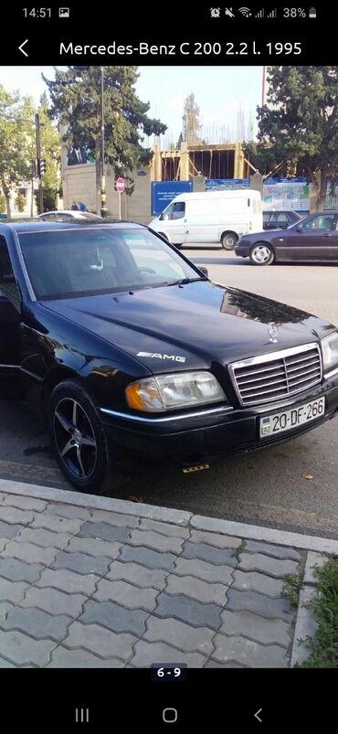Mercedes-Benz - Gəncə: Mercedes-Benz C 200 2.2 l. 1995