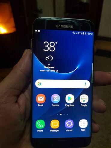 Elektronika - Smederevo: Upotrebljen Samsung Galaxy S7 Edge 4 GB crno