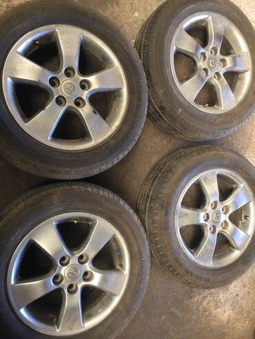 Продаю родные диски на Toyota Estima camry и.т.д только диски и с рез