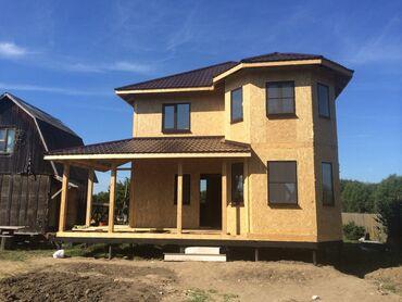СИП панели. Строительная компания Жамаат Курулуш строит дома