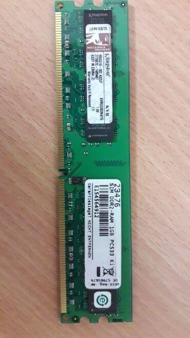 zapchasti ot pk в Кыргызстан: Продаю оперативную память DDR2 (2 шт) по 1 ггб