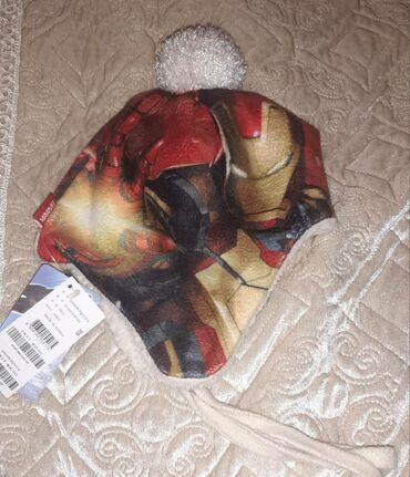одежда больших размеров бишкек в Кыргызстан: Продаю детскую, теплую, новую,крутую шапку MARVEL корейского бренда