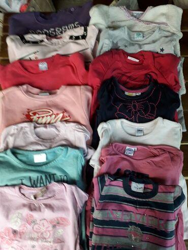 Bluzice na dug rukav za devojcice,broj 2,dobro ocuvane,cena je za