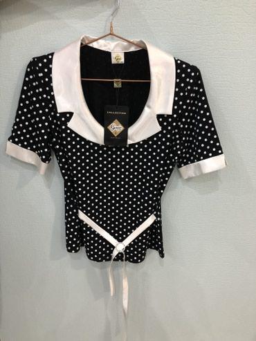 трикотажная рубашка в Кыргызстан: Нарядная трикотажная кофта, производство Польша, размер M