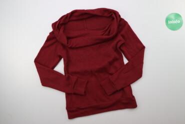 Жіночий светр з великим воротом, р. XS    Довжина: 52 см Довжина рукав