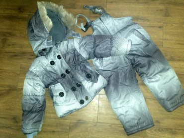 Зимний комбинезон и куртка на 2-3 года, в Бишкек