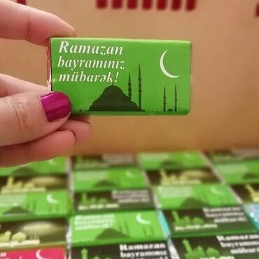 Ramazan bayramı üçün konfetlər