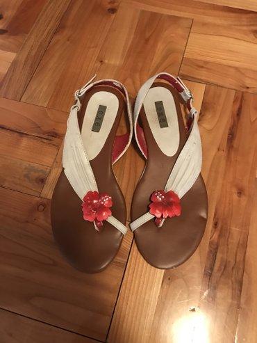 Braon kozne sandale broj pitajte - Srbija: Kozne ravne sandale broj 37