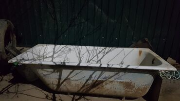 51 объявлений: Чугунная ванна. Советское. Очень тяжелое. Длина 1.5м., ширина 0.7м