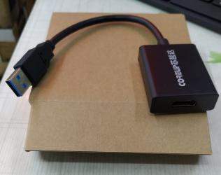 кабели синхронизации hdmi в Кыргызстан: USB 3.0 - HDMI adapter. Новый