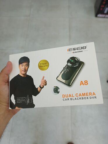 hd camera в Азербайджан: A8 HD DUAL CAMERA CAR BLACKBOX DVR video reqistrator.-Kamera: 12