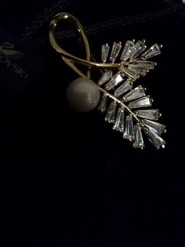 Angels never die - Srbija: Vrhunski svarovski broš Idealno na poklon Savršeni kristali i jedan