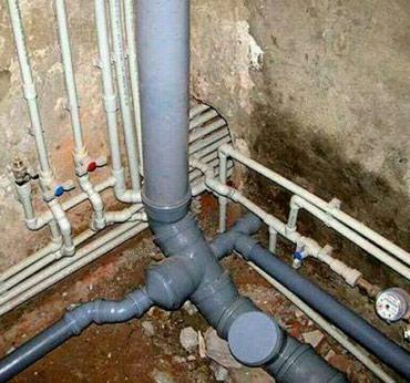 Вывод канализционных точек в Бишкек