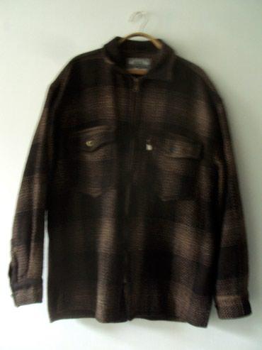 Мужские рубашки в Кыргызстан: Продам рубашку мужскую теплую, толстую, на замке. Размер 50-52