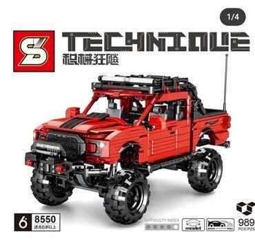 Konstruktor Lego mashin (6+) No8550 ic sayi - 989 detal. Qiymeti - 80