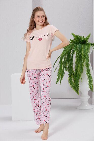 pijama - Azərbaycan: Keyfiyyətli. Türkiyə istehsalı. Pijama dəsti.Bədən - S/MQiymət 20