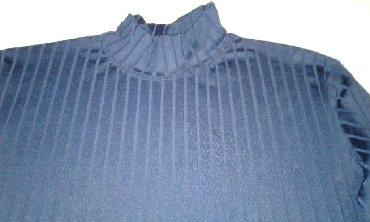 рубашка синего цвета в Кыргызстан: Продаю красивую модную водолазку Турция синего и чёрного цвета