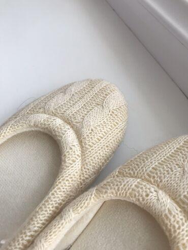 Тёплые тапочкиПриятные и легкиеНе скользкие Носить дома в холодец