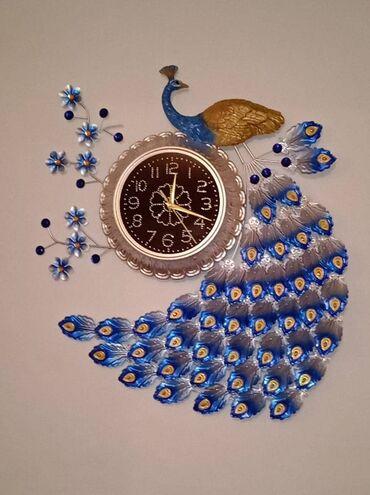 доставка продуктов питания на дом бишкек в Кыргызстан: Настенные часы премиум класса  Размер 75-65см