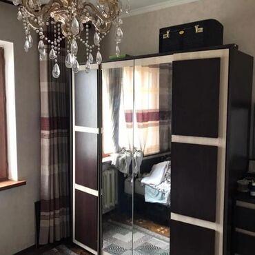 Продажа квартир - 2000 - Бишкек: 106 серия улучшенная, 2 комнаты, 52 кв. м Бронированные двери, Неугловая квартира