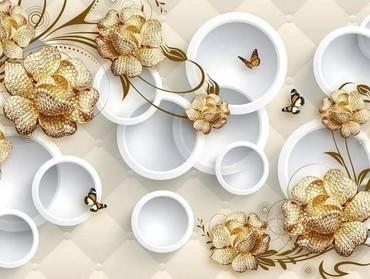 3D divar kağızının avantajları: shekil secimleri kotoloqumuzda ve sayi