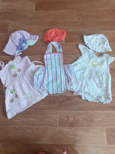 Пакет вещей для девочки примерно на 1 год пакет НОМЕР 10( ( платья
