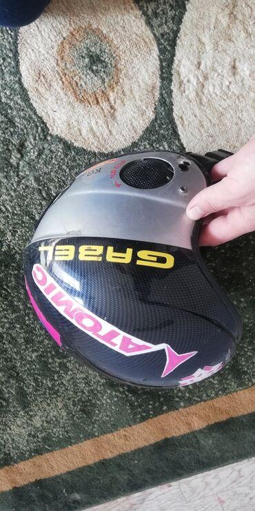 Лыжи - Каракол: Продаю горнолыжные ботинки, горнолыжные шлема, палки горнолыжные