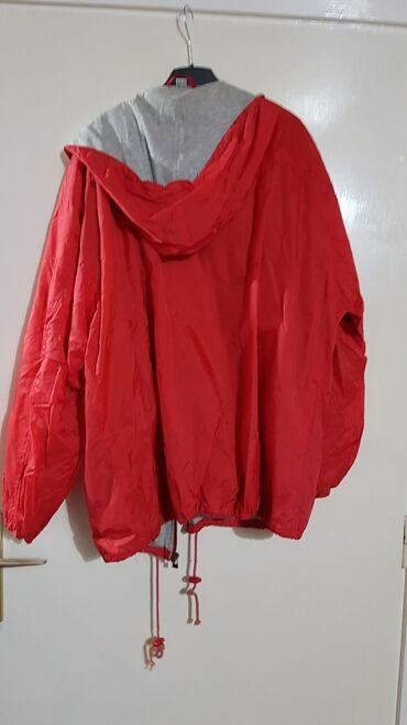 Potpuno nova jaknica šuškavac za kišu sa pamučnom postavom