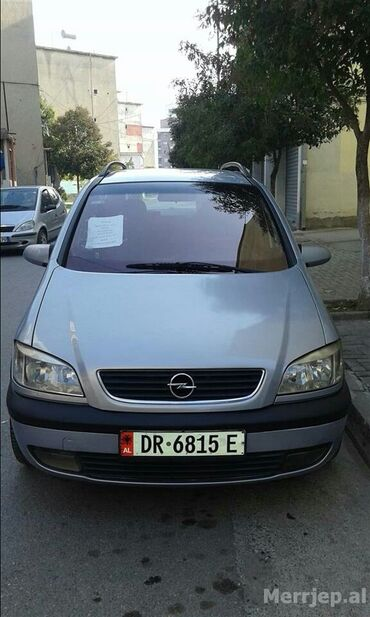 Opel Zafira 1.7 l. 2001   188000 km