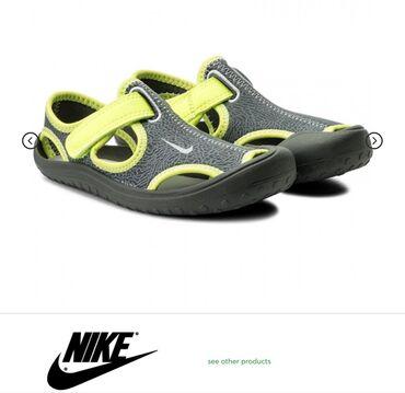 Детская обувь в Кыргызстан: Новые босоножки Nike Sunray Protect размер3Y, р.34-35 оригинал