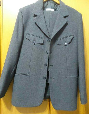 Muško odelo terranova,sive boje,veličina m. Obučeno je par puta,u - Belgrade