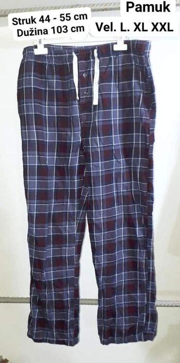 Pantalone pamuk polyester - Srbija: Letnje pantalone L. XL XXL pamuk