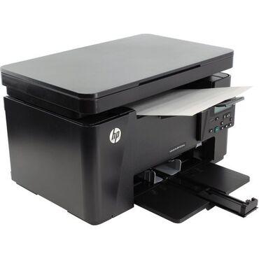 Printerlər - Azərbaycan: HP MFP 125nw printeriModel HP Laserjet Pro MFP 125 nw3 u1 de