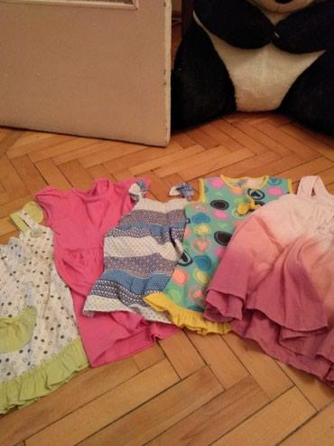 Детские платья от 2-х лет и до 4-х. все вместе 10 манат. в Bakı
