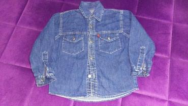 Ostala dečija odeća | Jagodina: Teksas kosulja, vlicina 6-8, duzina 48, rukavi 40, ramena 35, sirina