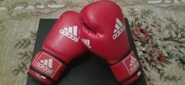 Перчатки в Кыргызстан: Боксёрские перчатки Adidas, состояние отличное.Писать WhatsApp Не