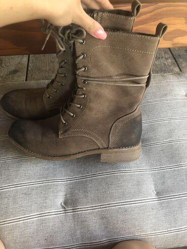 Rieker kožne čizme, broj 38. Malo su nošene, očuvane i bez oštećenja