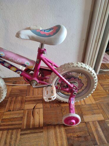 Za decu - Srbija: Bicikl za devojcice.U jako dobrom I ocuvanom je stanju.Moguce licno
