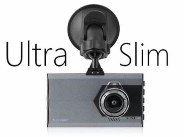 Auto kamera A8 Ultra Slim 1080 FHD kamera za auto - Belgrade