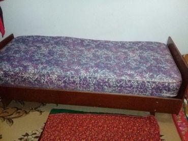 Кровать с матрасом цена 1500 сом в Бишкек