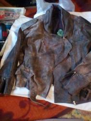 Kozna jakna,kratka,sve ispravno,velicina broj 13po nasem je s - Belgrade