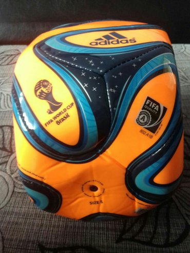 Мячи - Азербайджан: Brazilyadan gelib.tezedir