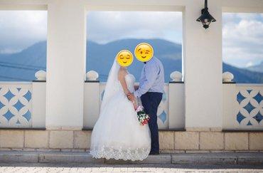 Продаю свадебное платье, покупали в Москве. Было надето на несколько  в Бишкек